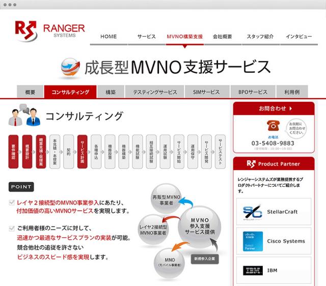 株式会社レンジャーシステムズMVNO WEB02
